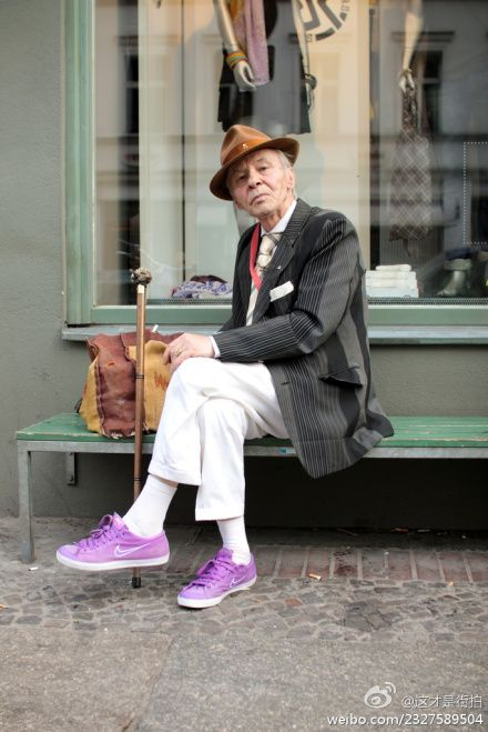 Fashionistas need dapper partners!  Old With Style