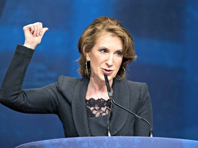 Carly For President Tells Supporters Despite Fox News' Top Ten, Fiorina Makes Breitbart's Top Ten in GOP Field