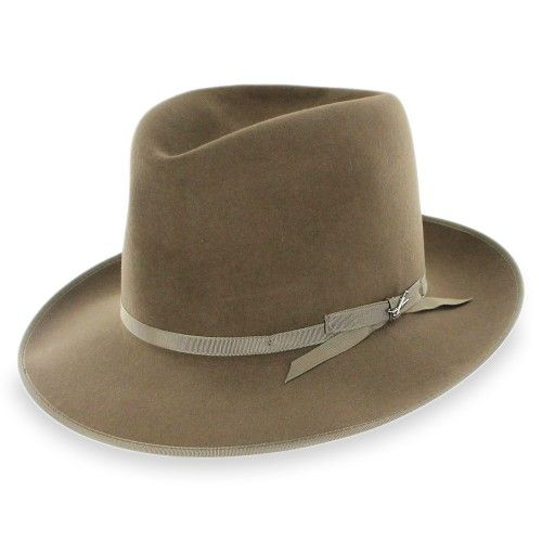 Stetson Premier Stratoliner Men's Hats Open Crown Fur Felt Fedora E7o85H