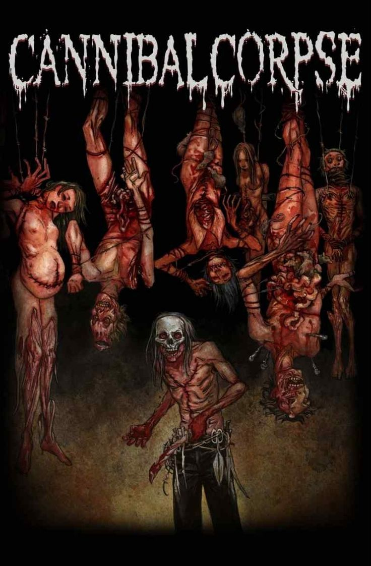 Cannibal Corpse - Torture Poster