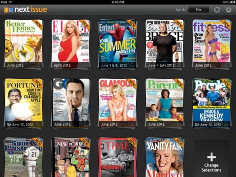 All-you-can-read magazine service comes to iPad in Next Issue - iPhone app article - Lisa Caplan | Appolicious ™ iPhone and iPad App Directo...