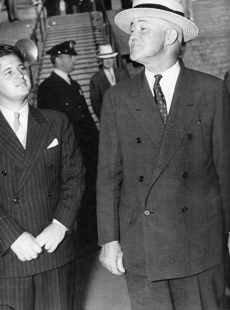 The New York Mob's fixer James J. Hines A Tammany Hall ward heeler who protected the likes of Lucky Lucians, Dutch Schultz, Frank Costello and Joe Adonis by bribing police and judges.  Thomas Dewey finally succeeded in putting his career to an end with a conviction and prison sentence in 1939.