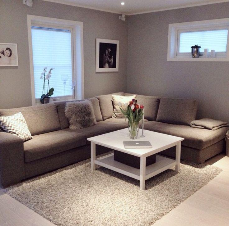 Sala Pequena Com Sofa Em L ~ 25+ melhores ideias sobre Sofá Em L no Pinterest  Mesa em l