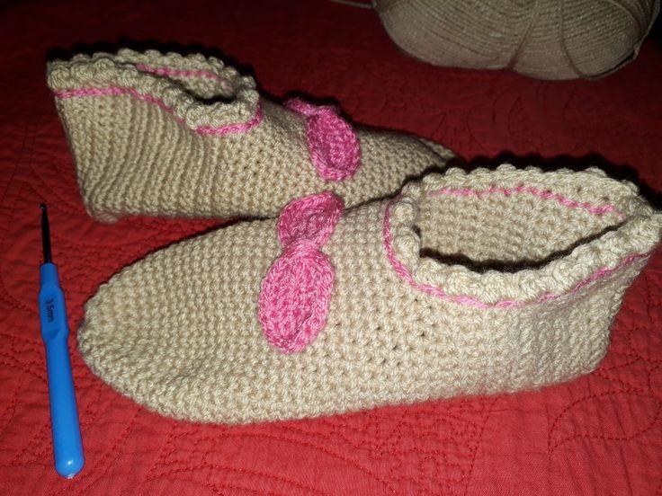 Sosoni. Crochet sllipers.
