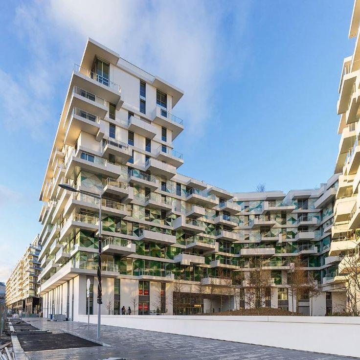 Agence Beckmann-N'Thépé completes 'Unik' Apartments – Ilot AA in Paris