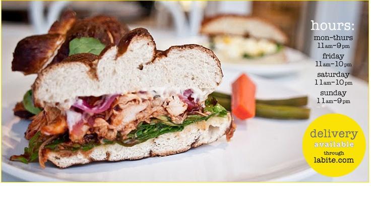 PIE!!!Chicken Sandwiches, La Restaurants, Simplethings Sandwiches, Pies Shops, 3Rd Street, Simple Things, Los Angeles, Foodies Stuff, Los Angels
