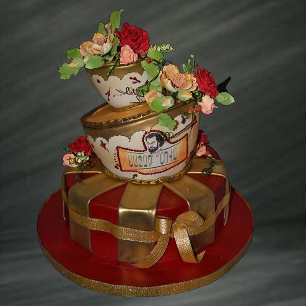 Beautiful Wedding Cakes By The Baking Grounds Bakery Café: You Don't Have To Be Mad As A Hatter To Host A Quirky Tea