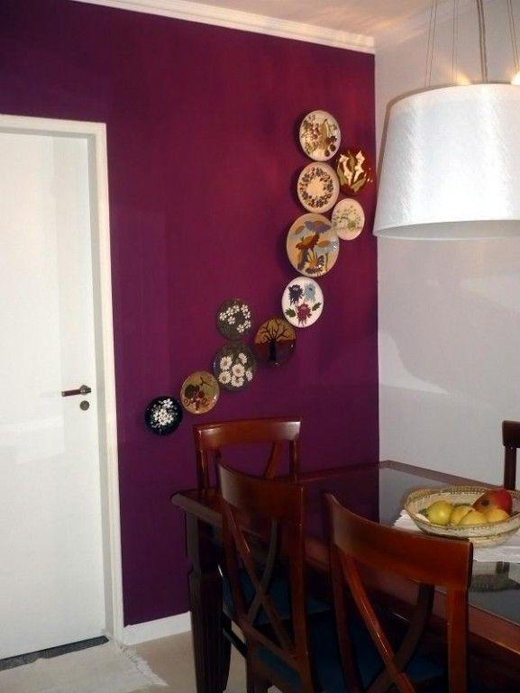 Pratos na parede: ideias de composições | Brincando de Casinha