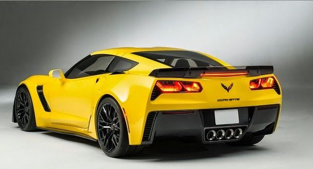 Chevrolet Corvette Z07 rear side