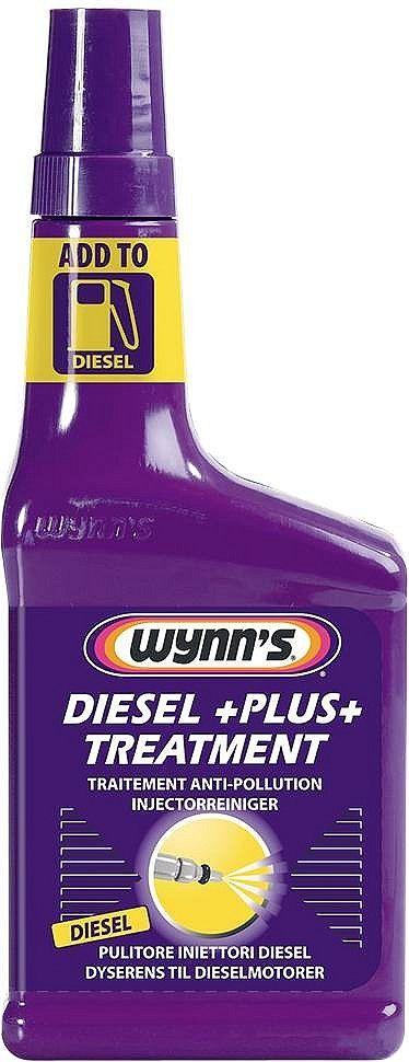 Wynn's Diesel Plus Treatment Dieseladditief  Description: Wynn's Diesel Plus Treatmentdieseladditief verbetert de kwaliteit van diesel en optimaliseert de verbranding. Verbetert de ontsteking en het verbrandingsproces door het cetaangetal te verhogen en vergemakkelijkt koud starten. Deze injectiereiniger vermindert zwarte uitlaatrook; verwijdert condenswater en reinigt de pomp en de verstuivers. Compenseert gebrek aan smering bij zwavel-arme brandstoffen.Wynn's Diesel Plus Treatment wordt…