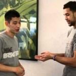 "[VIDEO] Jeremy Lin and Landry Fields ""Secret"" Handshake"