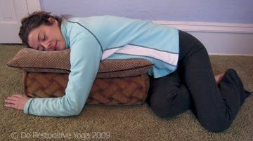 restorative yoga twists and yoga on pinterest