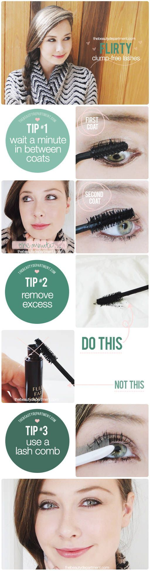 Is the way you're applying mascara making it clump? We blame the formulas or the wands, but sometimes, it's us! That's ok… when we know better, we do better! So here's to losing clumps forever! TOOLS: Your Favorite Mascara — My two absolute favorite (I mean obsessed!) mascaras are Charlotte Tilbury Full Fat Lashes 5...