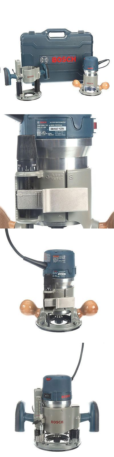 Routers 122829: [No1] Bosch 12A 2-1 4 Hp Peak Corded Variable Speed Plunge Fixed-Base Router Kit -> BUY IT NOW ONLY: $189.95 on eBay!