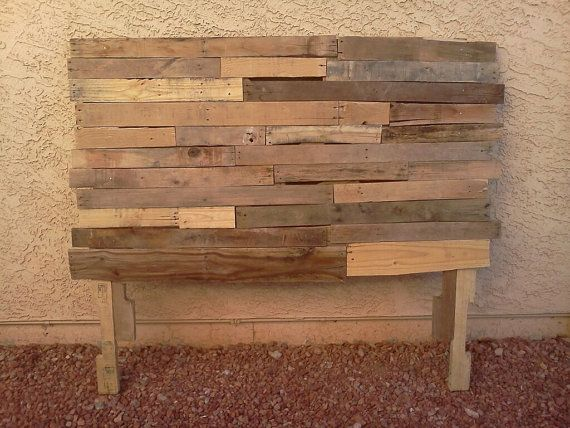 Reclaimed Queen Pallet Headboard. Making this this weekend