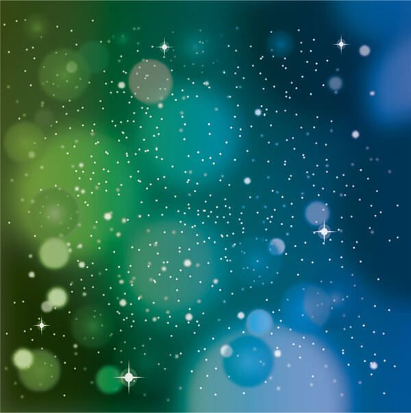 Space Blue Green Background Free Vector