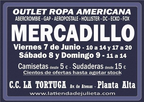 Este fin de semana tenemos Mercadillo en el C.C. La Tortuga. Te esperamos !!!