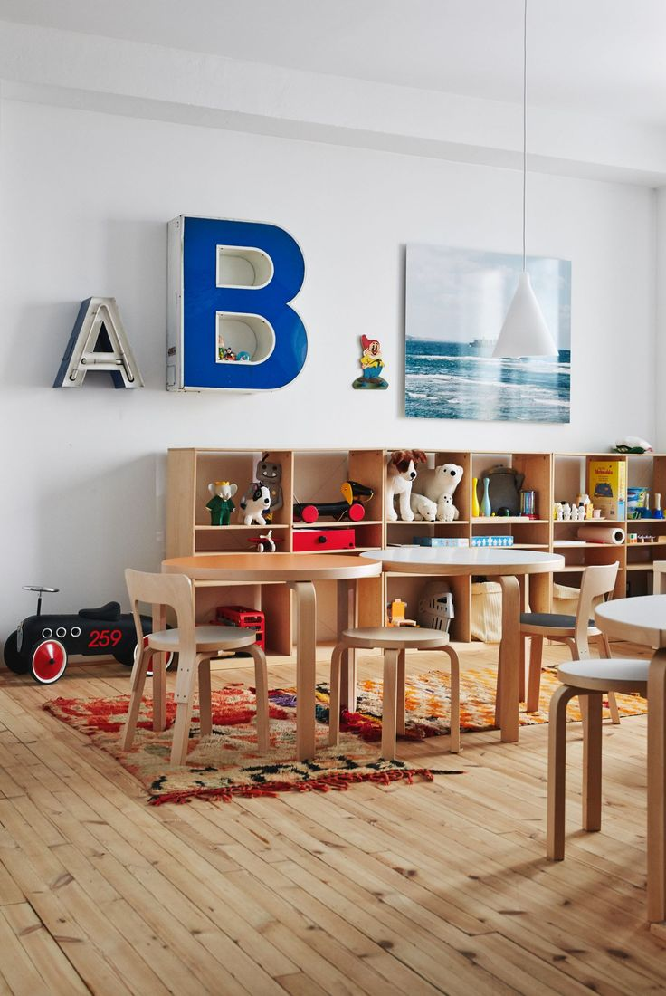 Artek playroom, love this #kids #decor