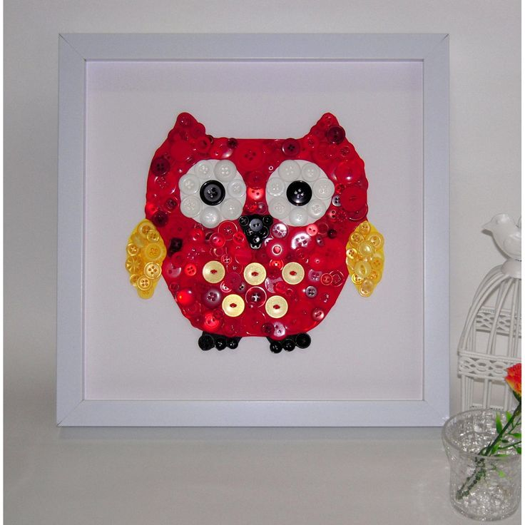 Owl Baby Gifts Australia : Best images about button owl art on a