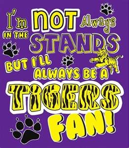 LSU TIGERS! @Kelli Massey- YOu should print this off for Key.