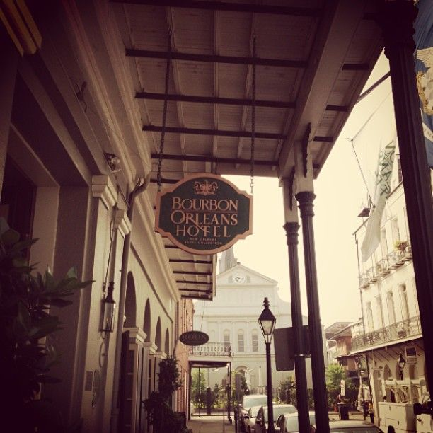 Right in the heart of all the action. Bourbon Orleans Hotel
