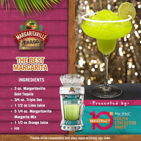 Which one is the best margarita? Well, how about a margarita whose name is The Best Margarita? I think that's a clear winner! #MGVSplendidSummer