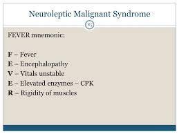Afbeeldingsresultaat voor serotonin syndrome vs neuroleptic malignant syndrome