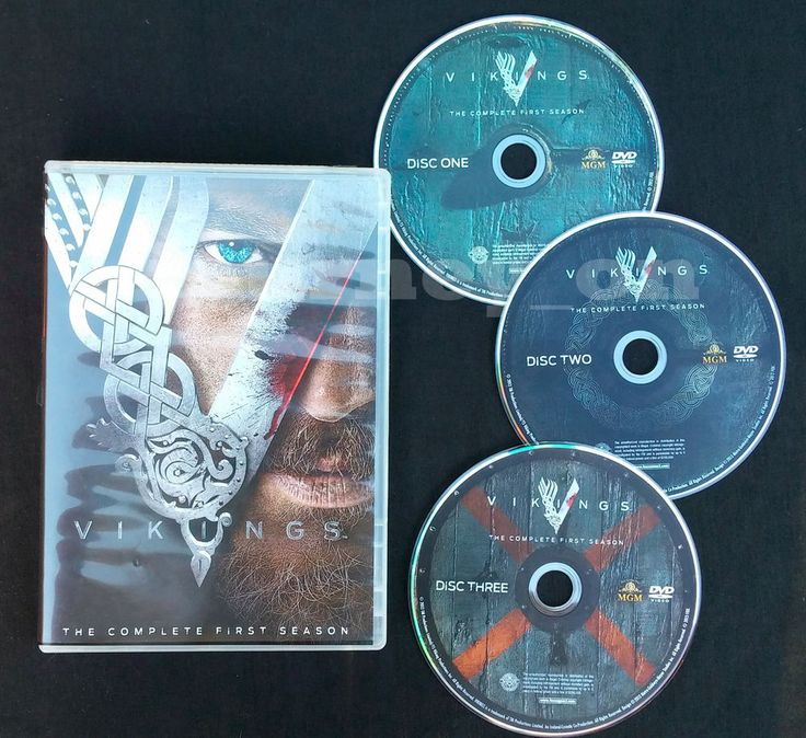 Vikings Season 1 DVD Complete First Season Free Shipping