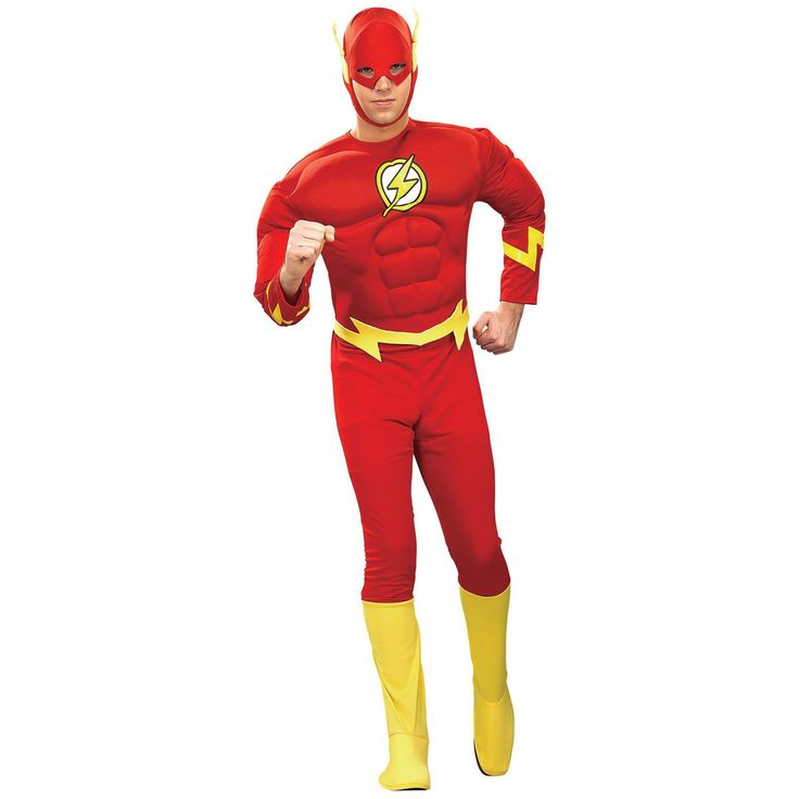 flash costume muscle large