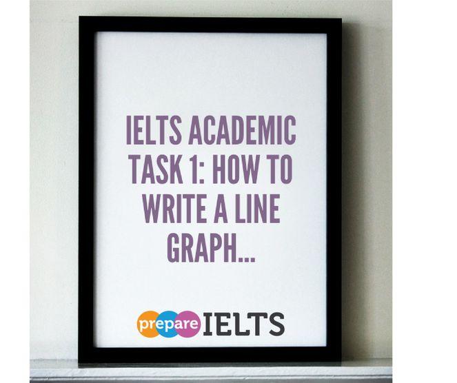 IELTS task 1 line graph tutorial