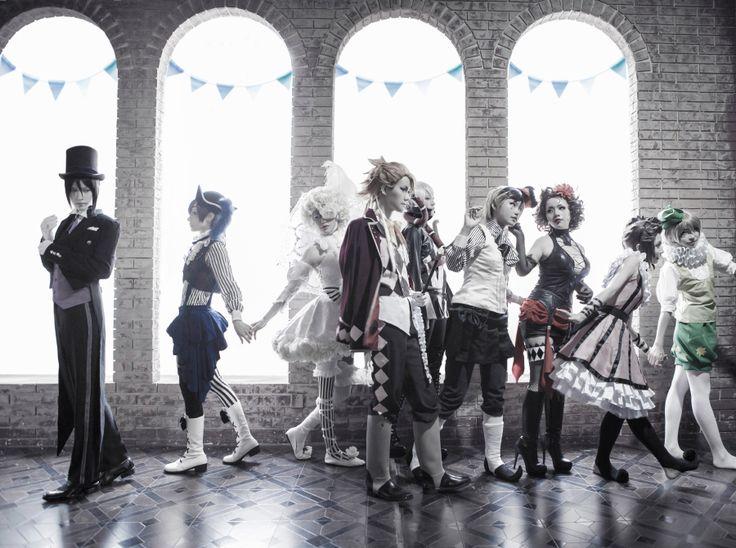 book of circus cosplay | Tumblr