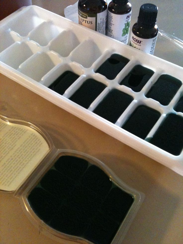 Homemade Vicks Melts for both Scentsy and Shower. Perfect to have around in the fall!!!