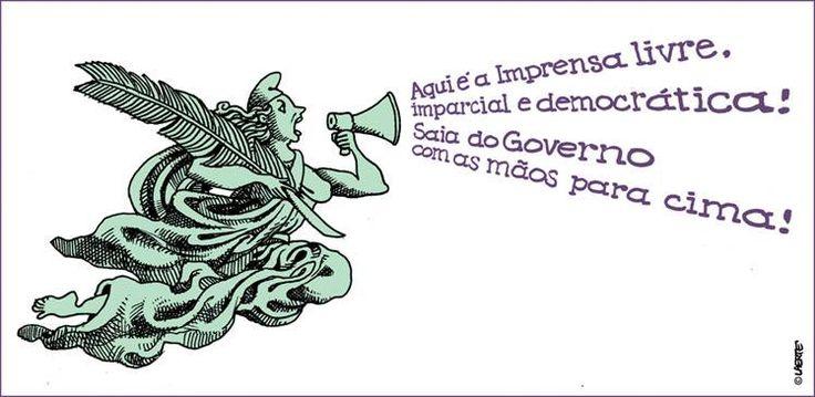 A imprensa livre e democrática, por Laerte Coutinho | GGN