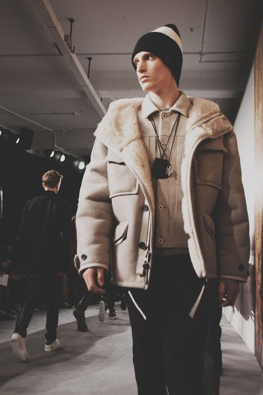 Utility luxury at Coach AW15 LCM. See more here: http://www.dazeddigital.com/fashion/article/23130/1/coach-aw15-mens