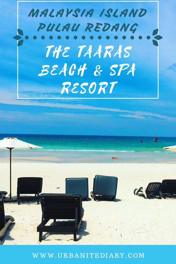 Review and pictures of The Taaras Beach & Spa Resort at Pulau Redang / Redang island