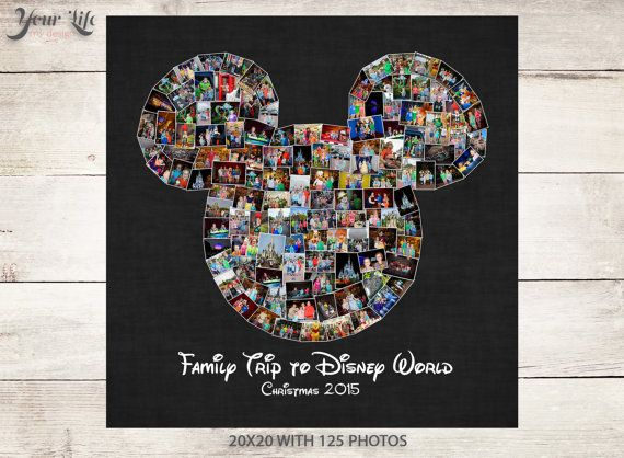 Remember your Disney Family Vacation by displaying all of your favorite Disney photographs! Display your family vacation photos every year in