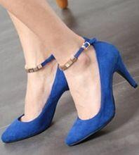 Koreanversion sapatos femininos mujeres zapatos altos mujeres bombas frosted moda tipdesign zapatos rosados de la boda azul negro del resorte del talón(China (Mainland))
