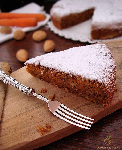 Torta di carote http://blog.giallozafferano.it/graficareincucina/karottentorte-torta-di-carote-altoatesina/