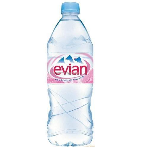 Evian Natural Spring Water (24x16.9oz)