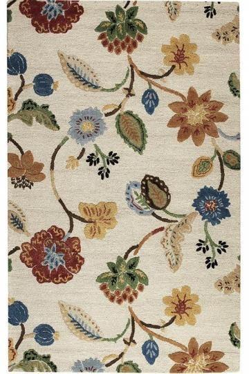 The Portico Rug. #HDCrugs HomeDecorators.com | Floral rug ...