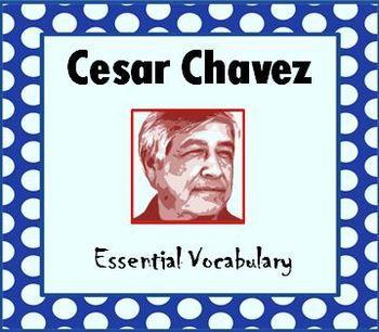 cesar chavez day vocabulary with fun cesar chavez. Black Bedroom Furniture Sets. Home Design Ideas