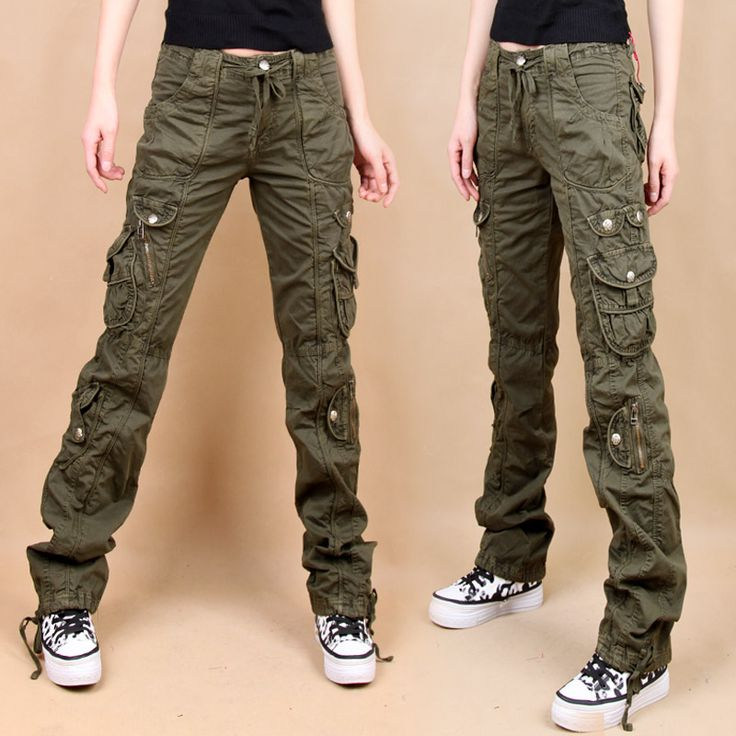 Skinny jean-fit cargo pants.or in black would be the other best pick for wrath