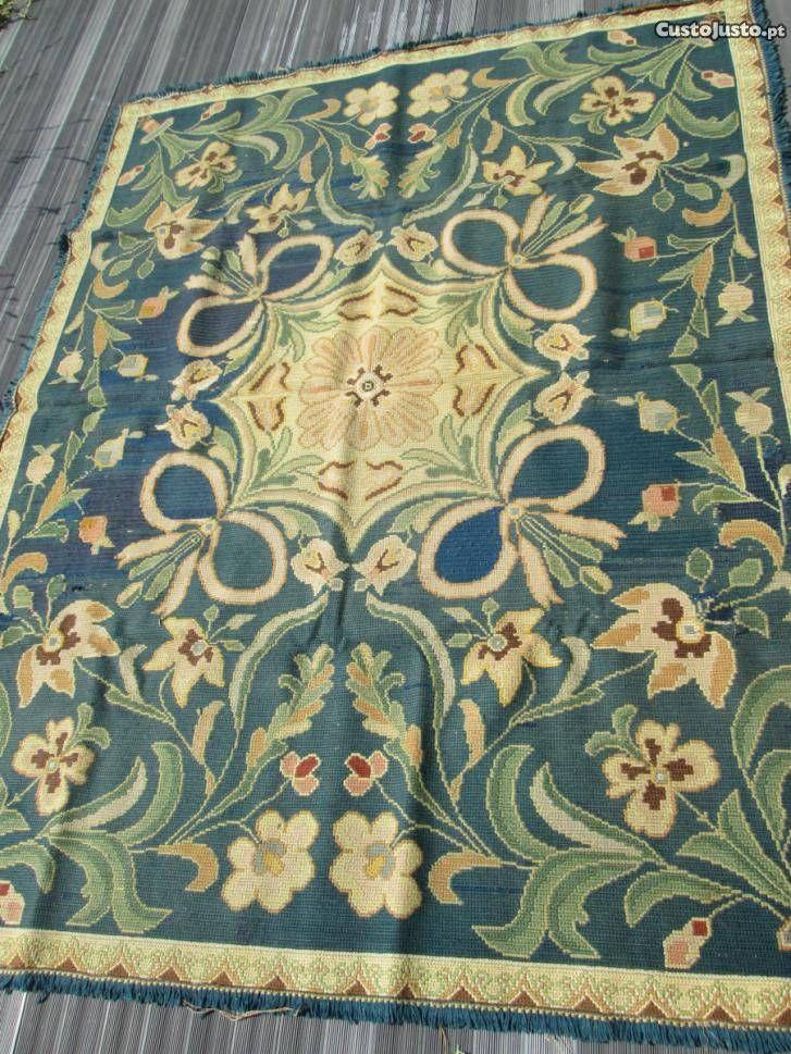 Mejores 307 im genes de arraiolos en pinterest bordado alfombras y punto de cruz - Alfombras portugal ...