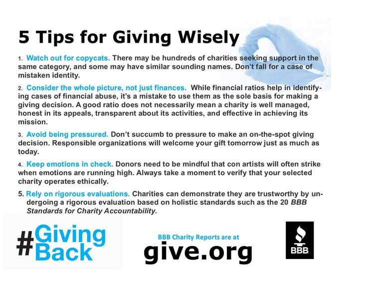 Are You Misplacing Your Trust When Giving To Charity New Data On