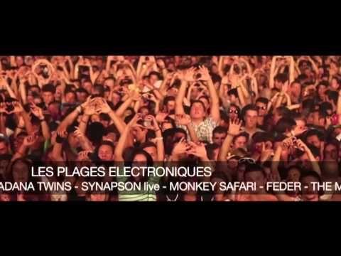 Cannes Les Plages Electroniques 2015 - YouTube