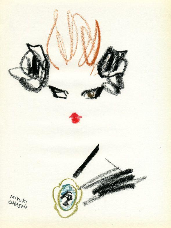 """""""Mia Wasikowska for MIUMIU Campaign ss2012"""" 2010年、ティム・バートン監督の映画『アリス・イン・ワンダーランド』のアリス役に抜擢され、一躍有名になったミア・ワシコウスカが、miumiuのキャンペーンガールに! あまり飾らない、ナチュラルな印象の彼女なので、強めのメイクがなんだか新鮮。"""