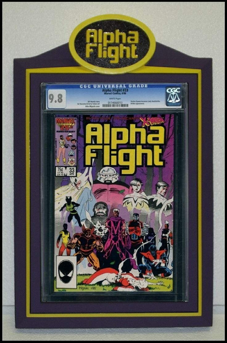 80 best Custom CGC Comic Book Display Frames images on Pinterest ...