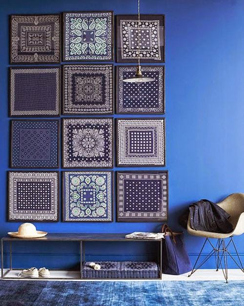 Norse White Design Blog: Blue Patterns around the House