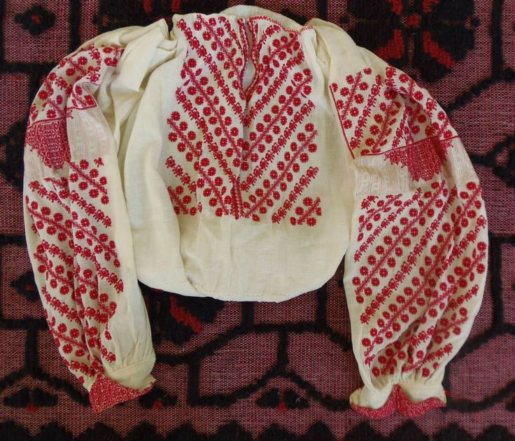 Romania - embroidered blouse