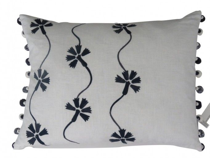Designers Guild Shirotae Graphite Pillow available now on West of May Singapore #westofmay